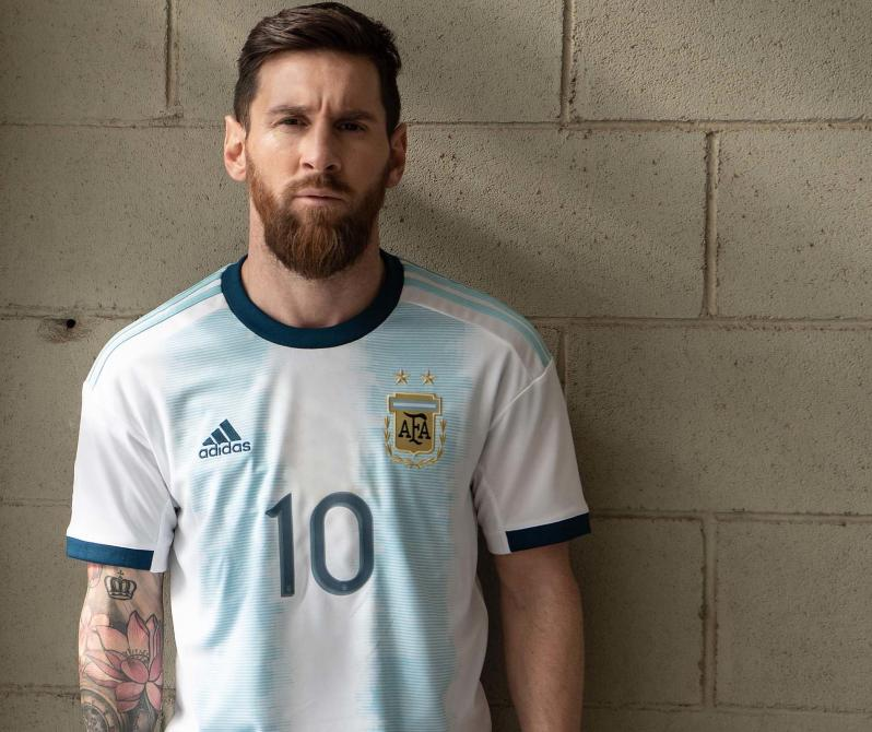 Argentina home jersey 2019