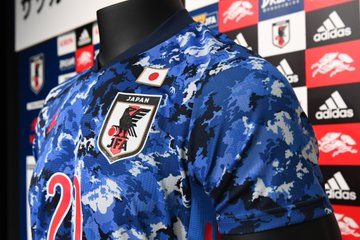 Japan Olympic soccer jersey