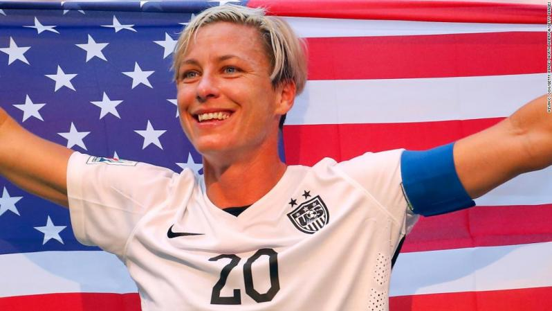 Abby Wambach finished her career with two Olympic golds, a World Cup title and in the National Soccer Hall of Fame.