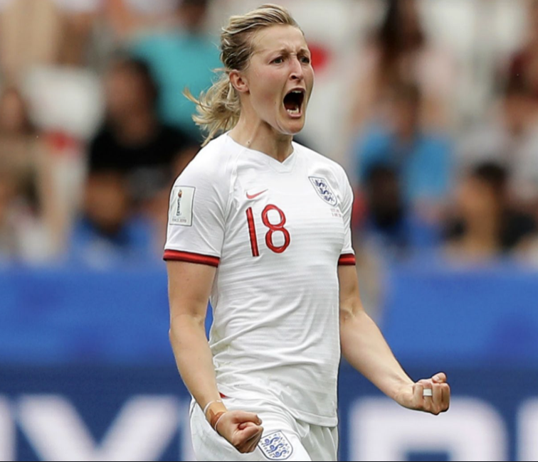 Ellen White tied for most goals at the 2019 Women's World Cup.