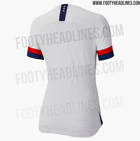 USWNT 2019 World Cup jersey