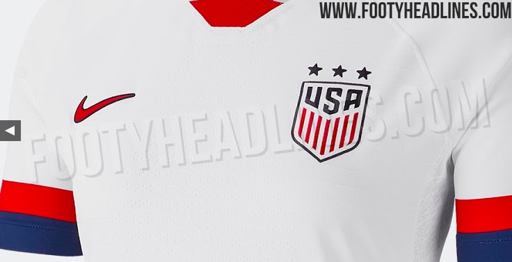USWNT jersey 2019 World Cup