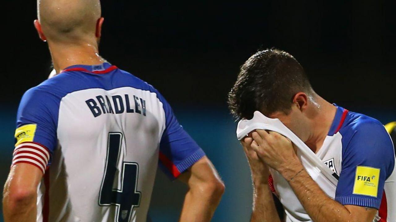 Michael Bradley And Christian Pulisic Reaction To US Loss