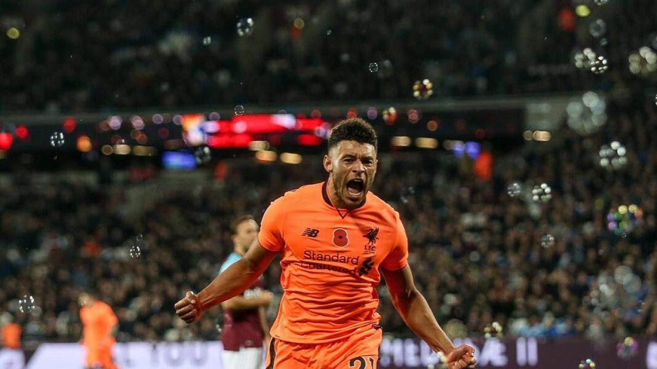 Alex Oxlade-Chamberlain Bubble Burster Goal Against West Ham