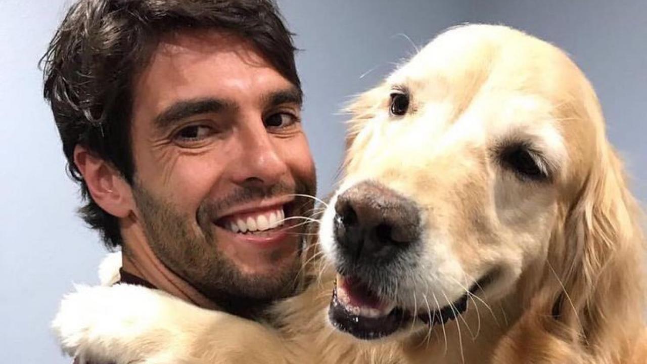 Kaka With A Dog