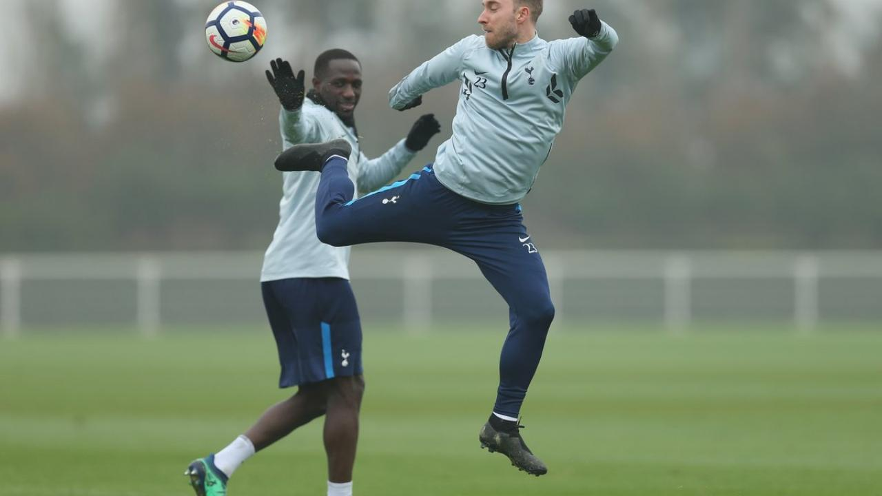 Cristian Eriksen Acrobatics In Training
