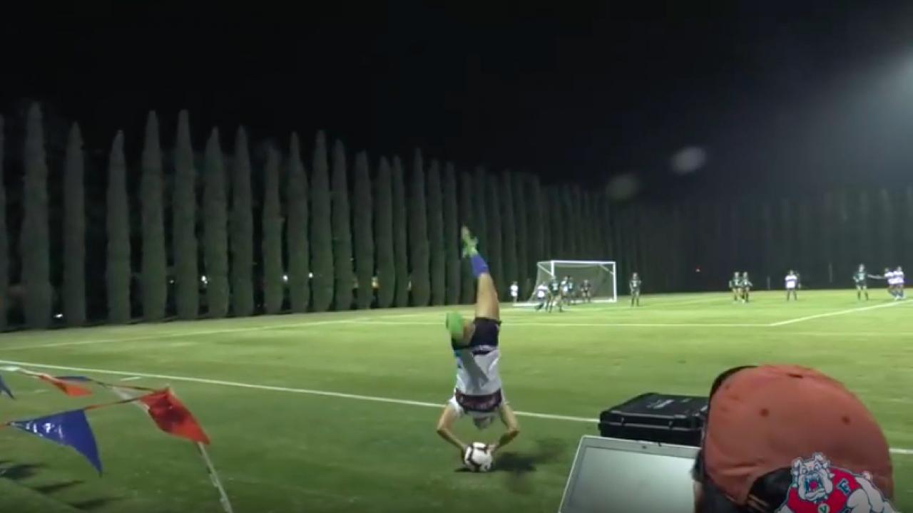 Flip throw-in assist