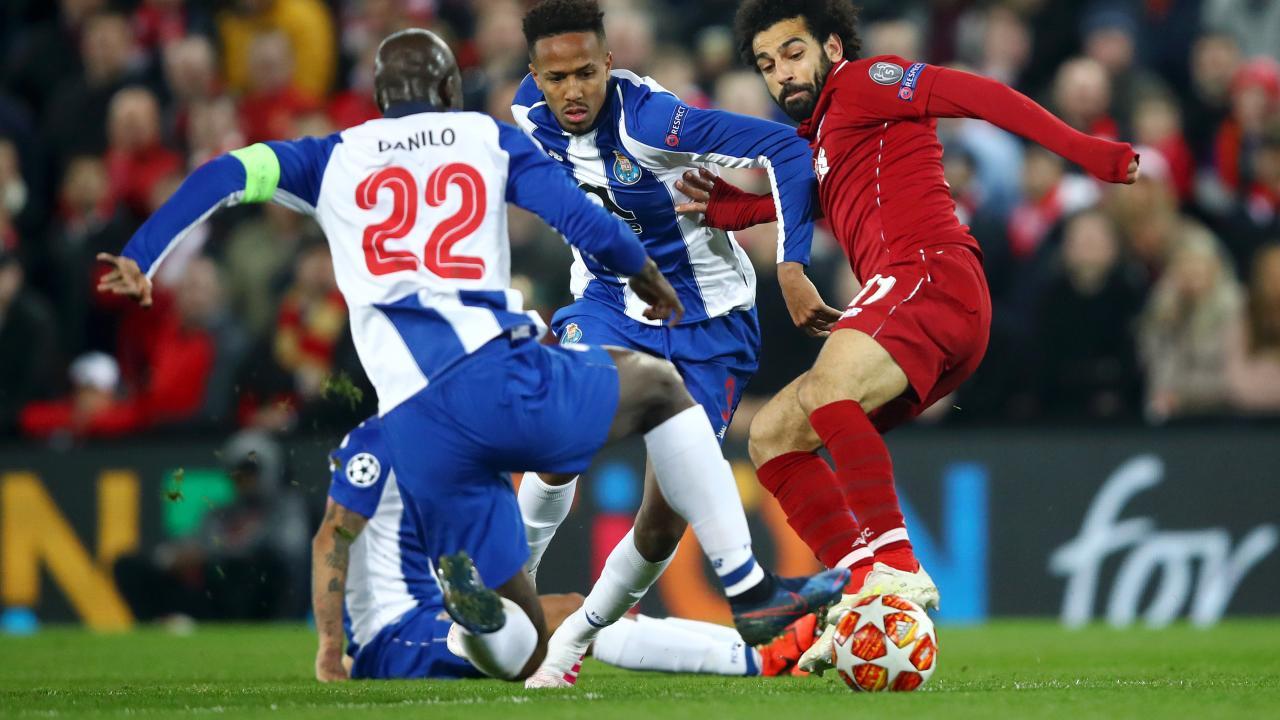 Mo Salah Tackle On Danilo Pereira