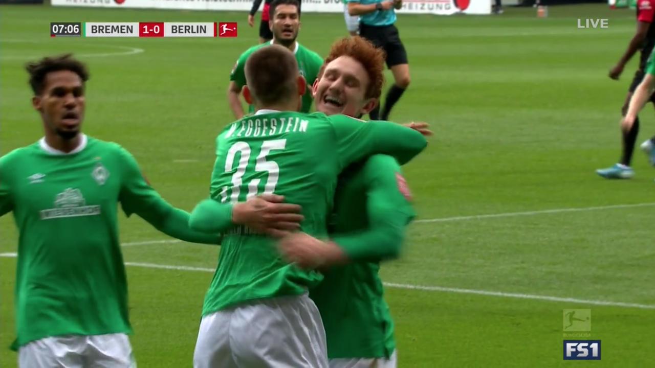 Josh Sargent Goal vs Hertha Berlin