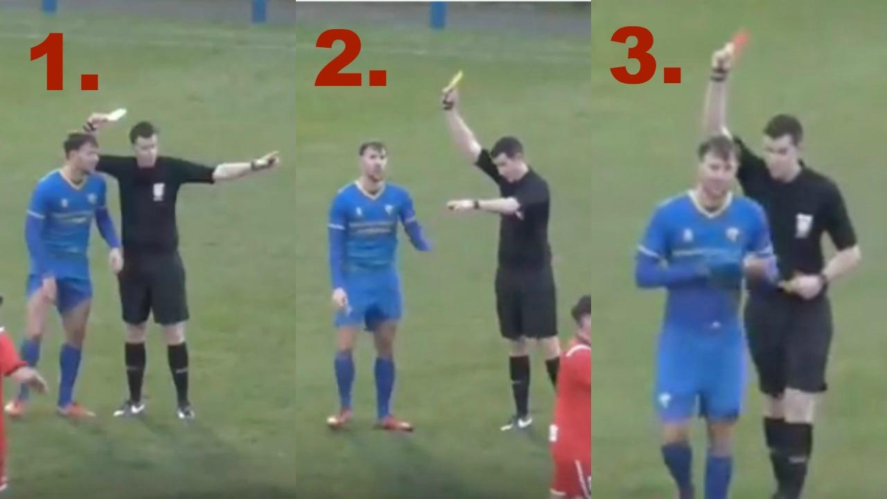 Two tactical fouls lead to red card