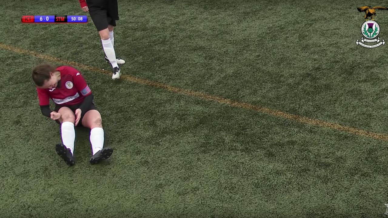 Soccer Kneecap Injury — Jane O'Toole