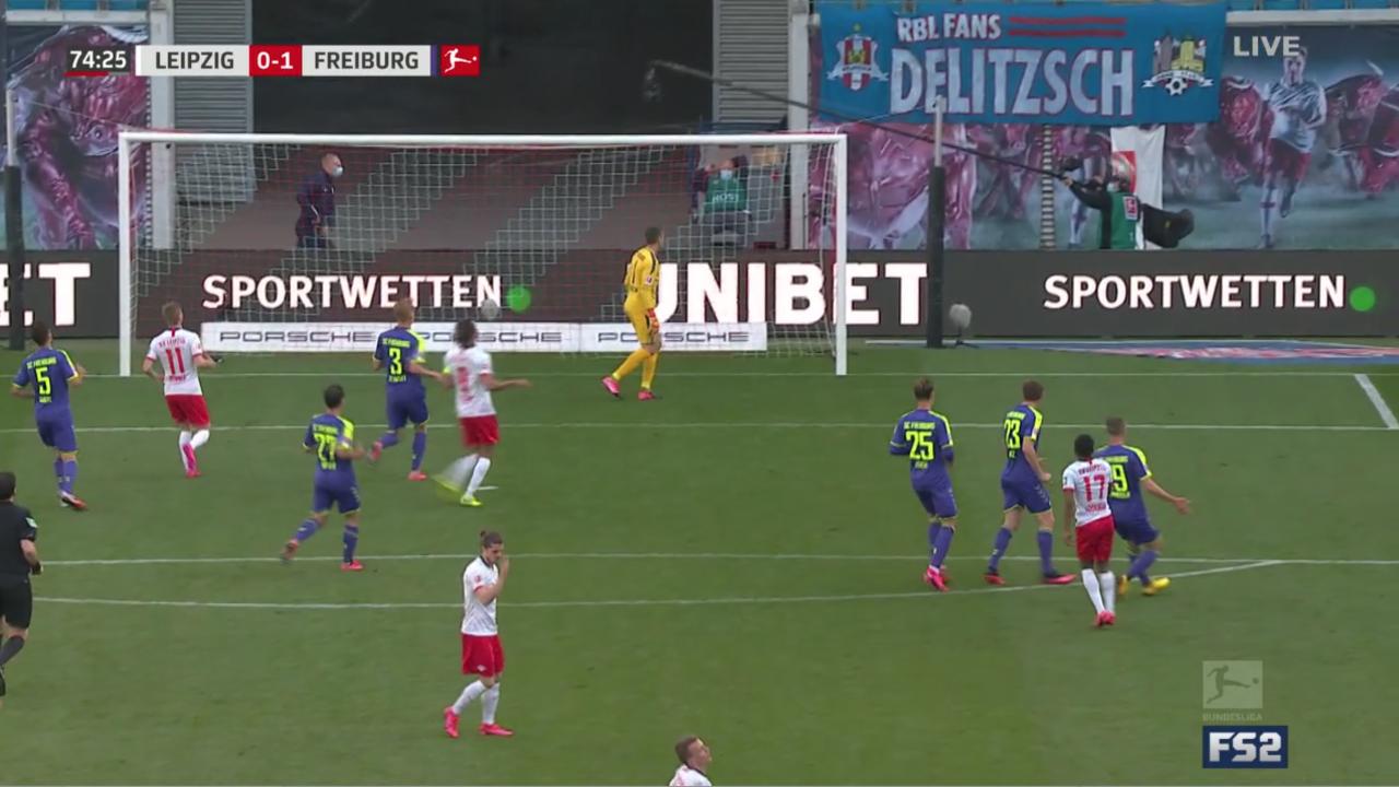 RB Leipzig vs Freiburg Highlights