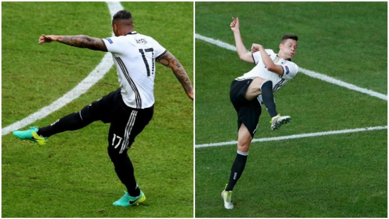 Germany defeat Slovakia 3-0.