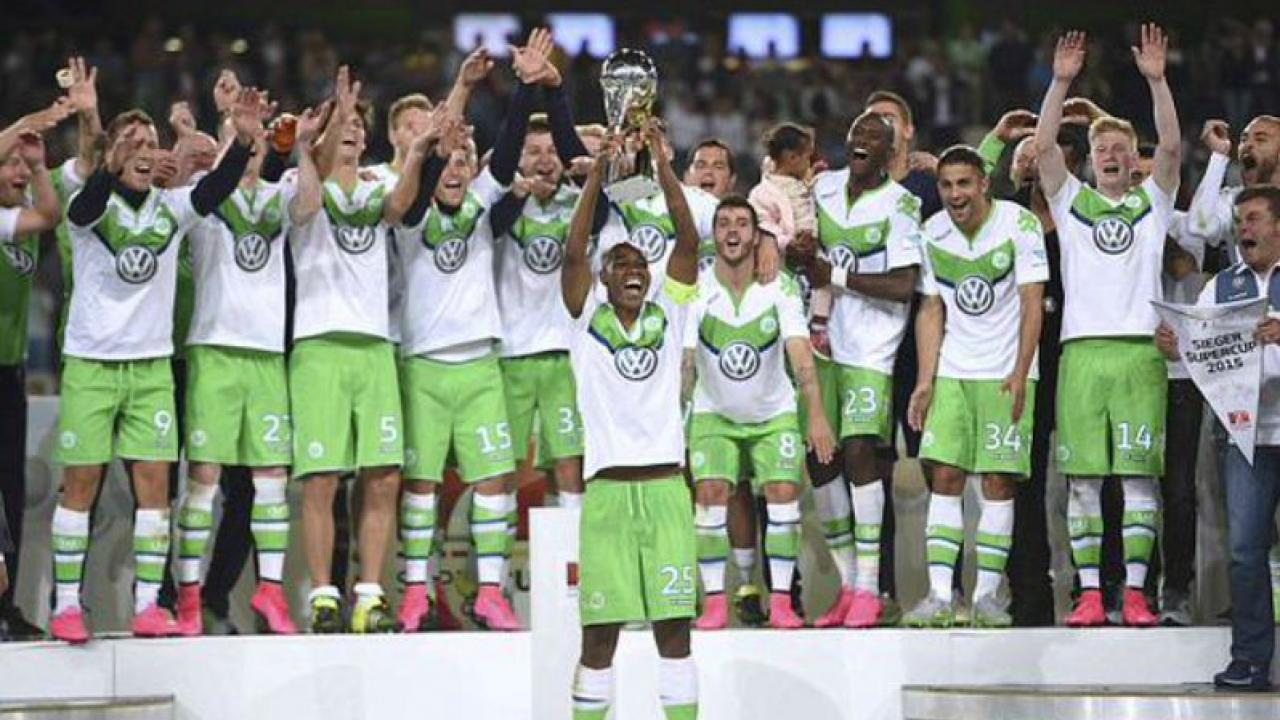 Wolfsburg crowned champions