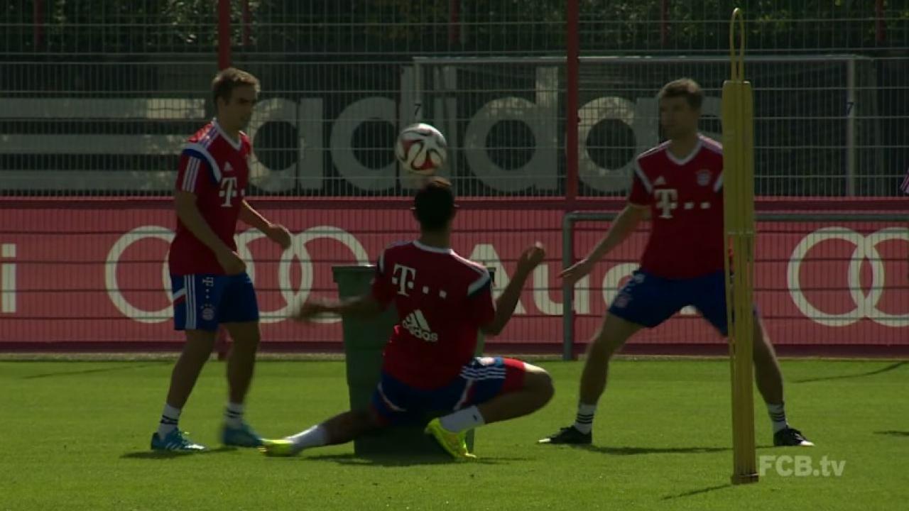 Bayern Munich Training