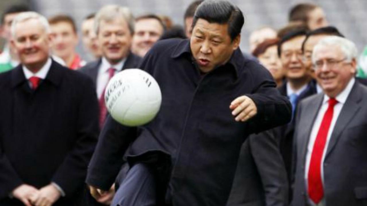 China, China soccer, Chinese men's national team, China soccer schoolchildren, China soccer required