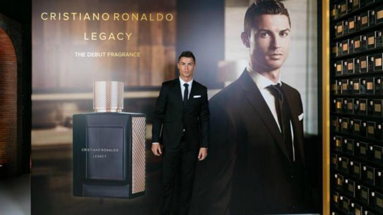 Cristiano Ronaldo unveiled his new fragrance