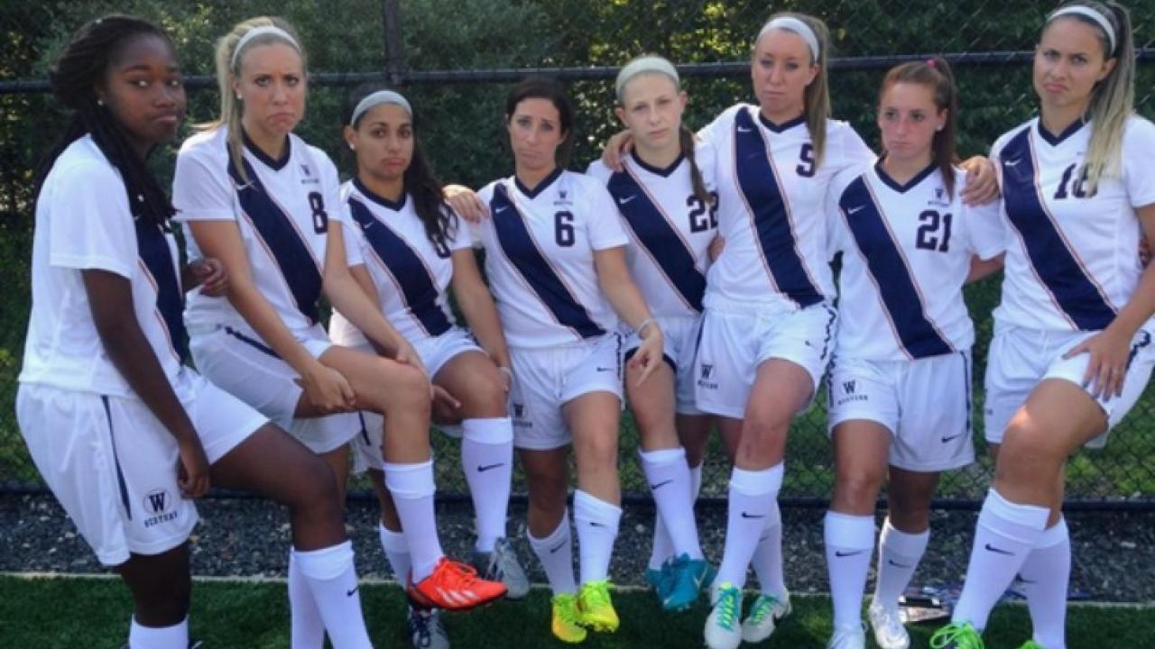 WSCU Girls Soccer team