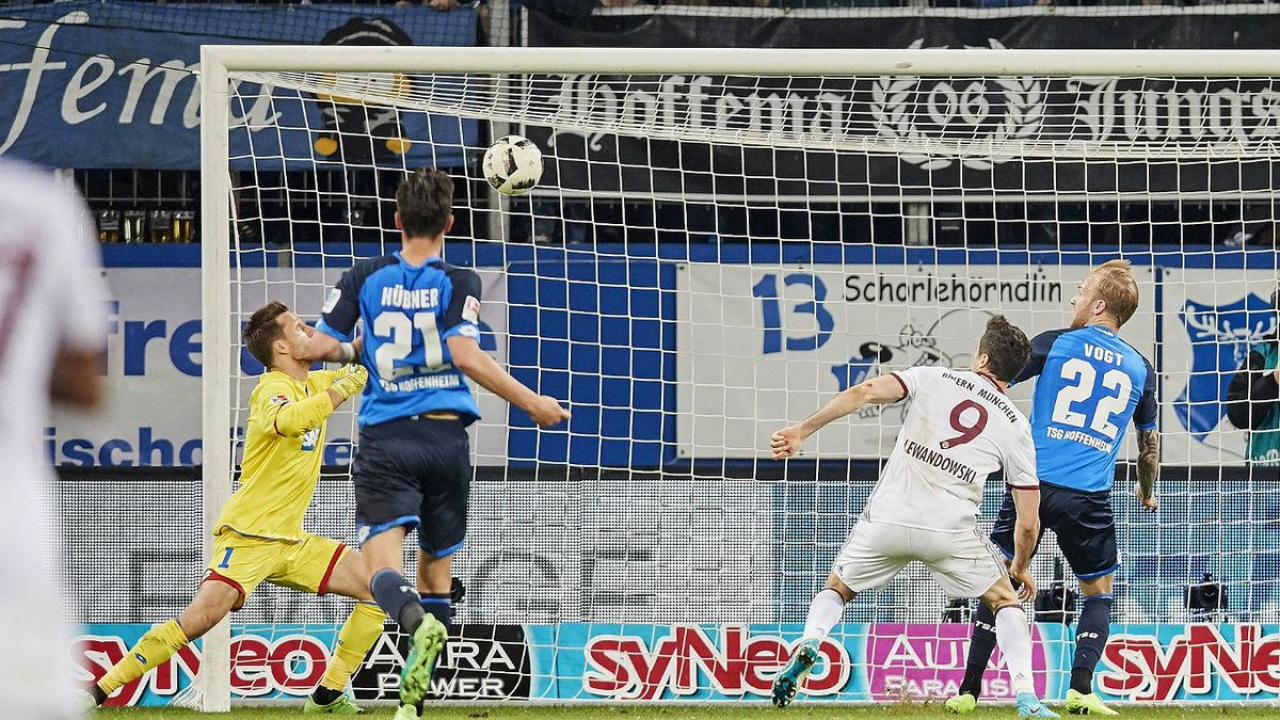Hoffenheim defeat Bayern Munich