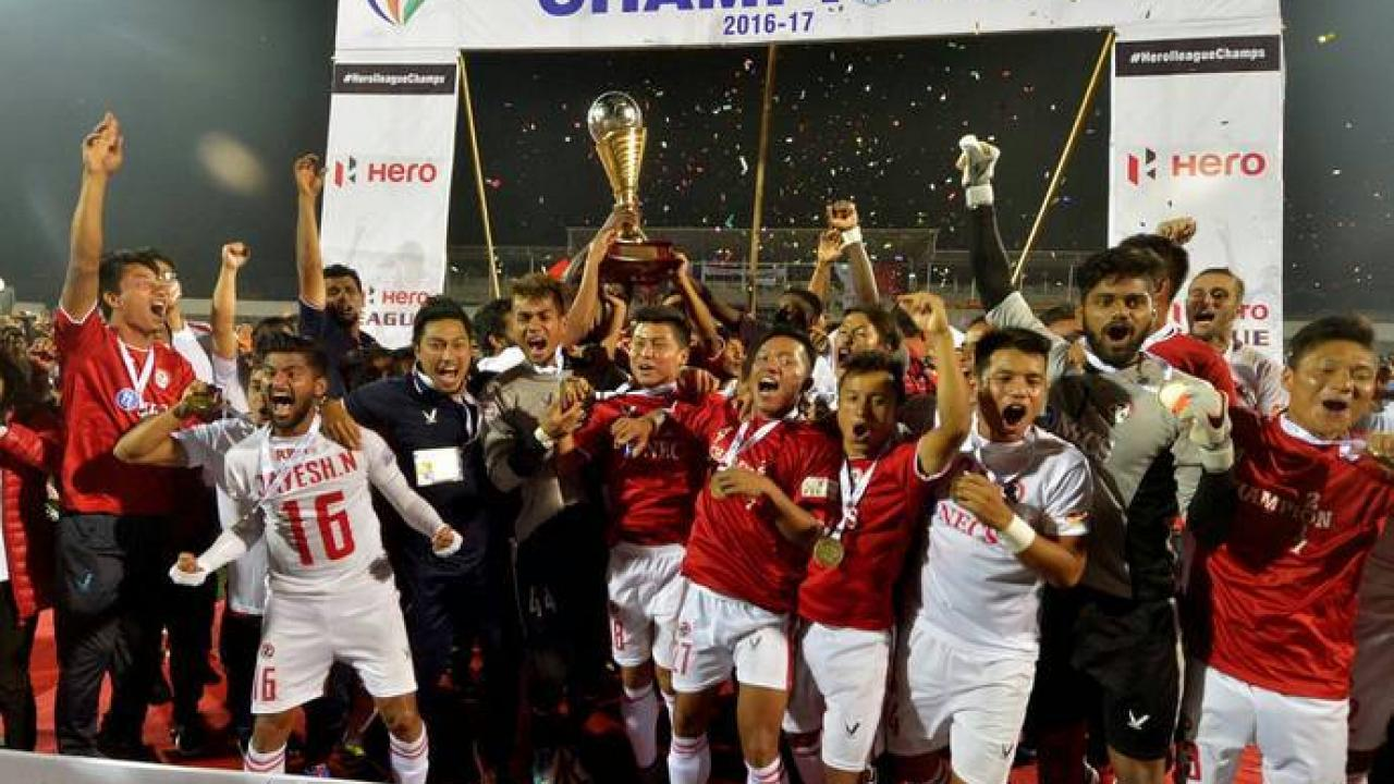 Aizawl FC are the first team to win the I-League title from Northeast India