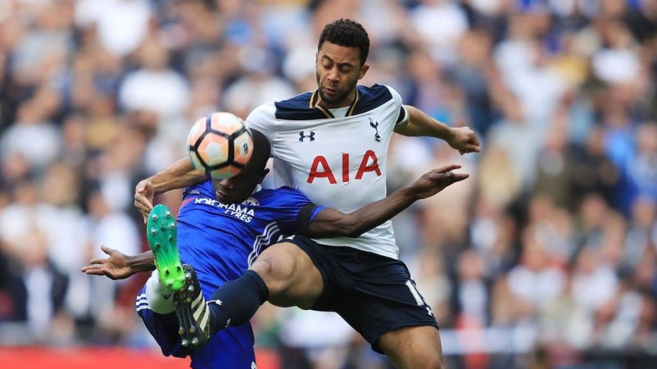 Tottenham trail Chelsea by four points with four matches to play in the EPL season