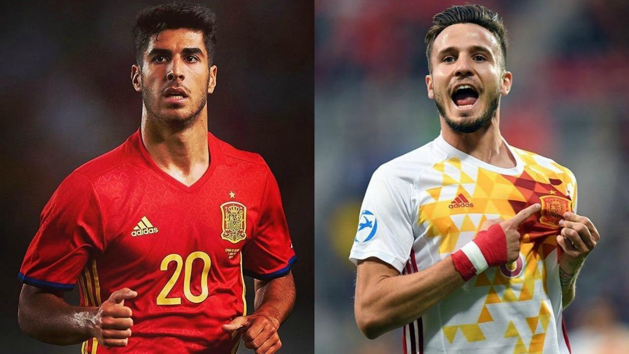 Marco Asensio and Saul Niguez