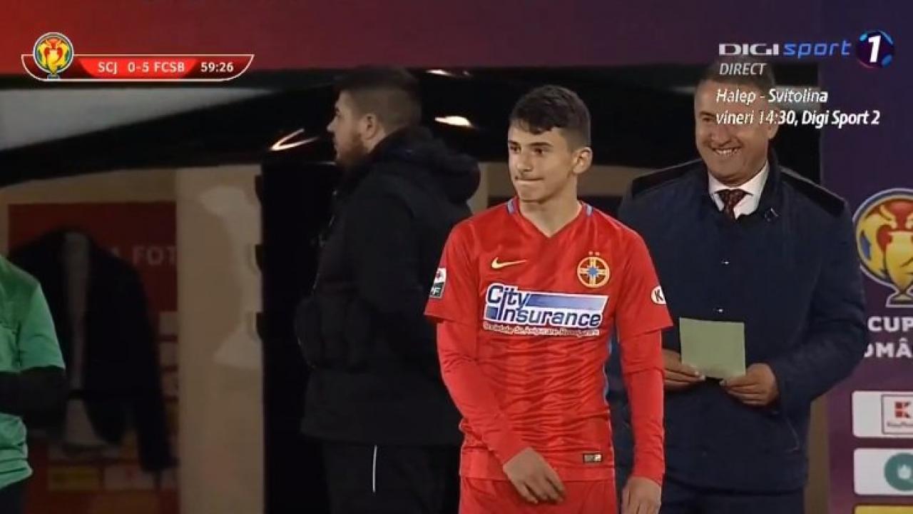 Ianis Stoica Steaua goal