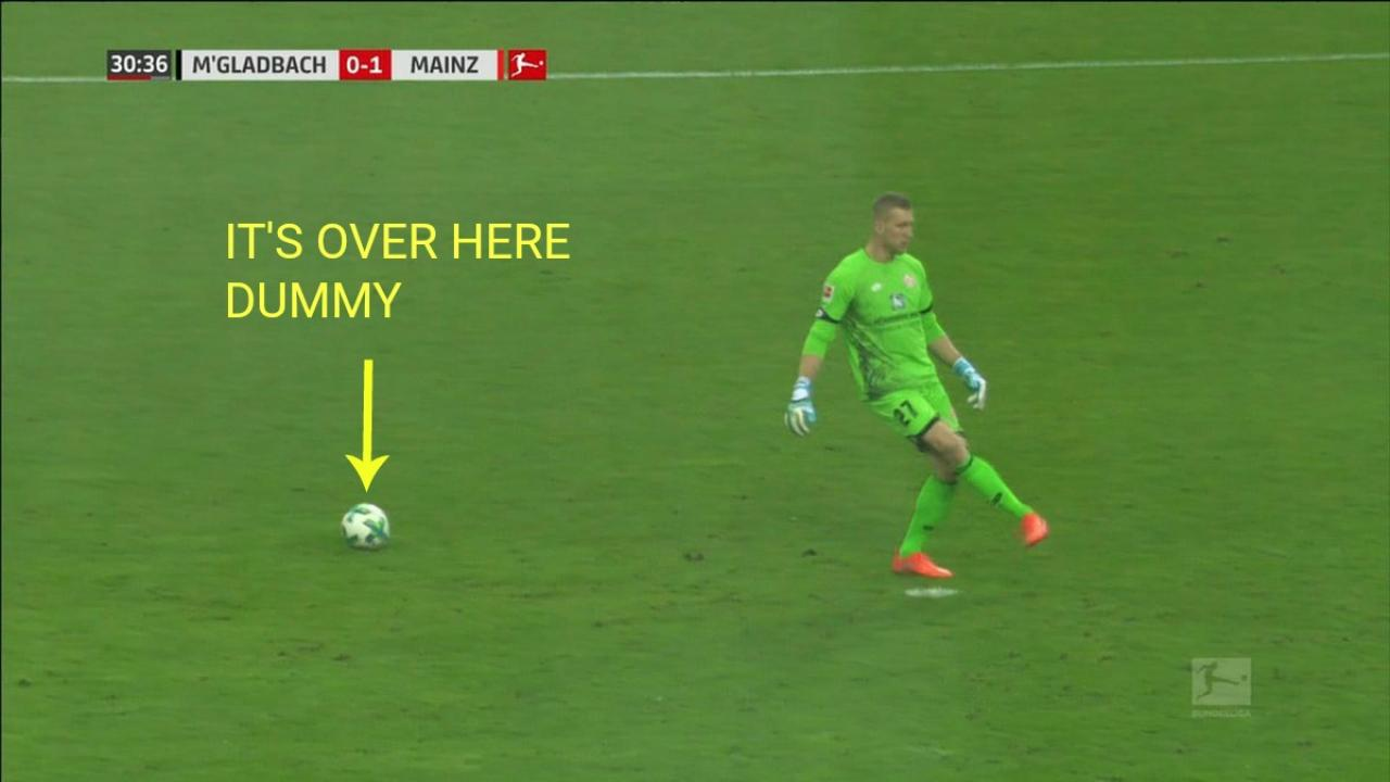 Mainz goalkeeper