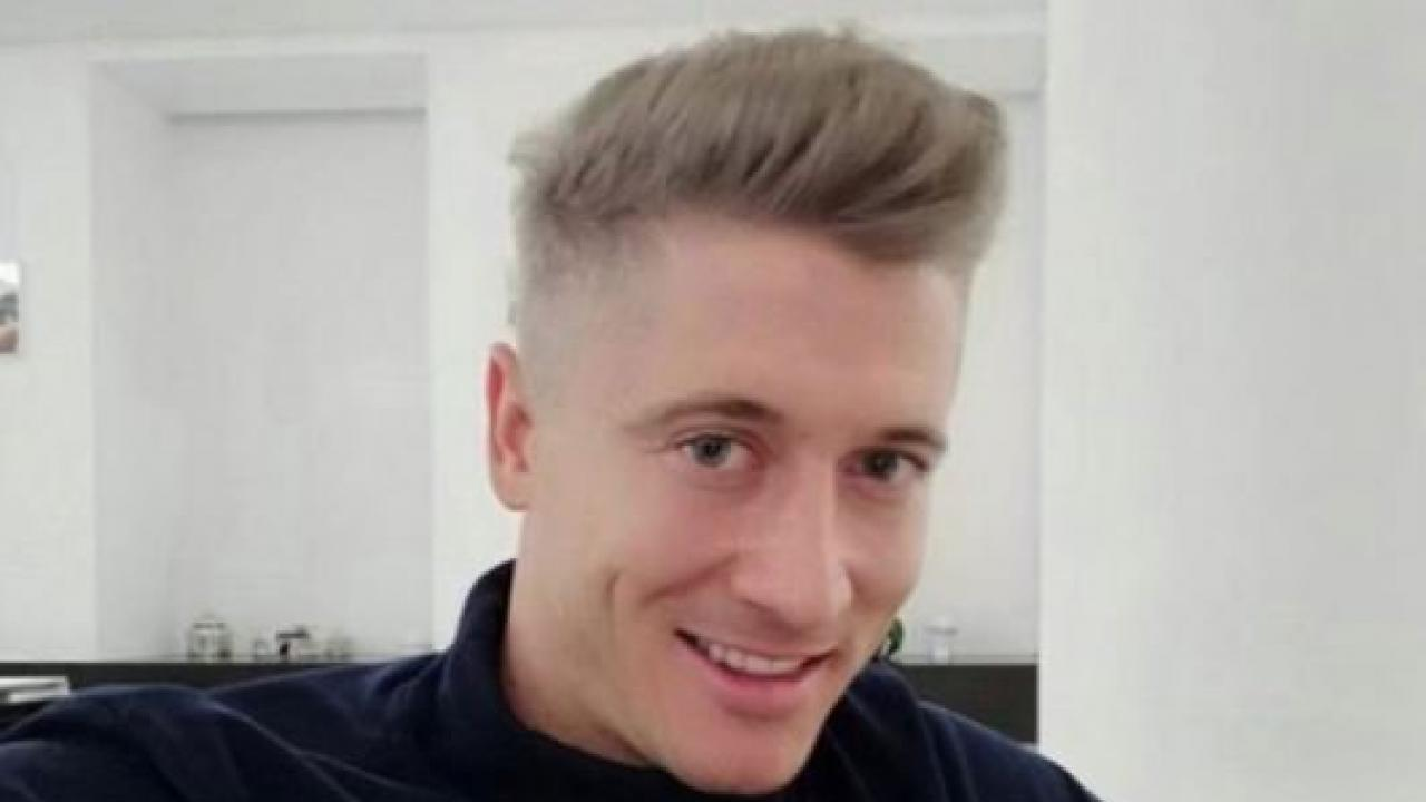 Robert Lewandowski gray hair