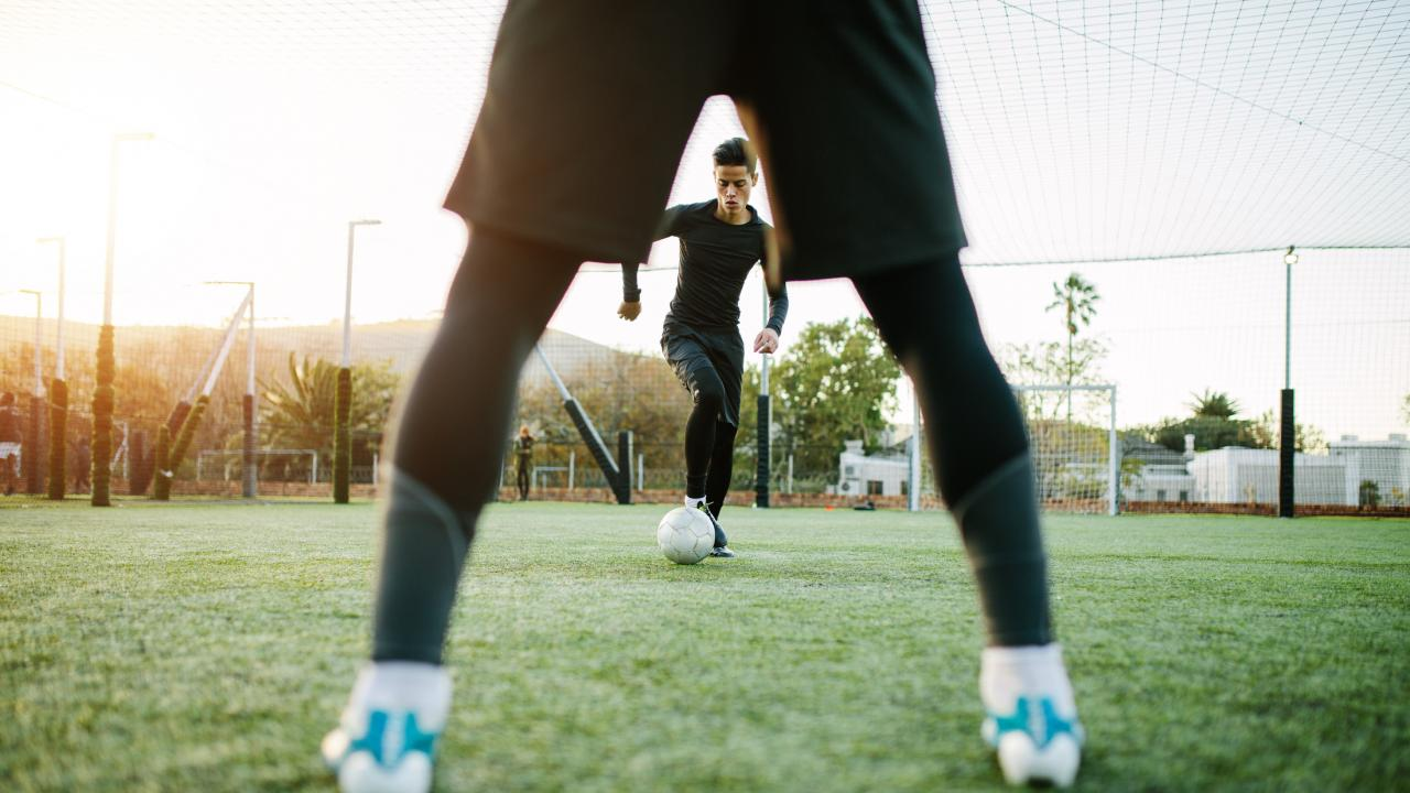 Soccer offseason training