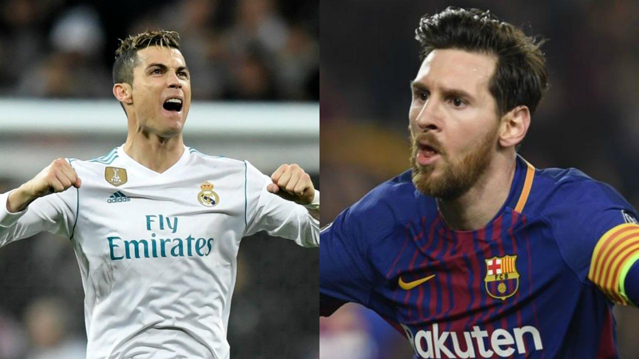 Messi vs Ronaldo Champions League stats