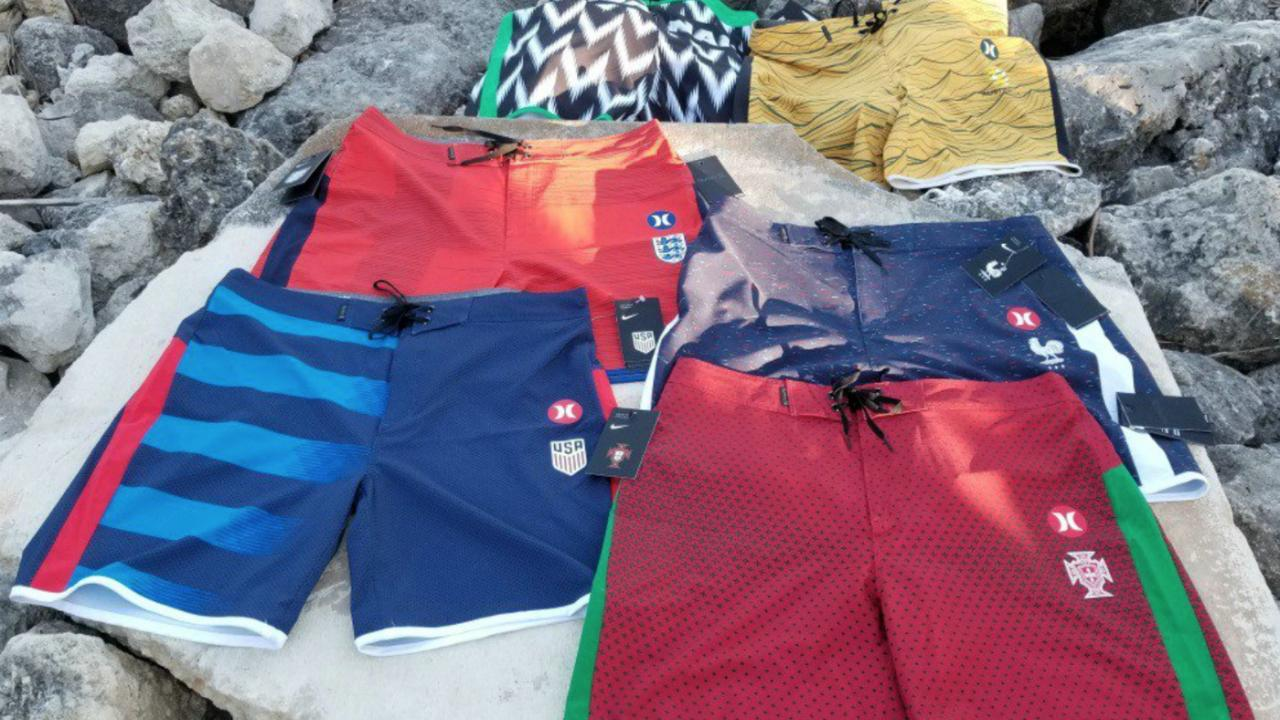 Hurley World Cup Boardshorts Collection