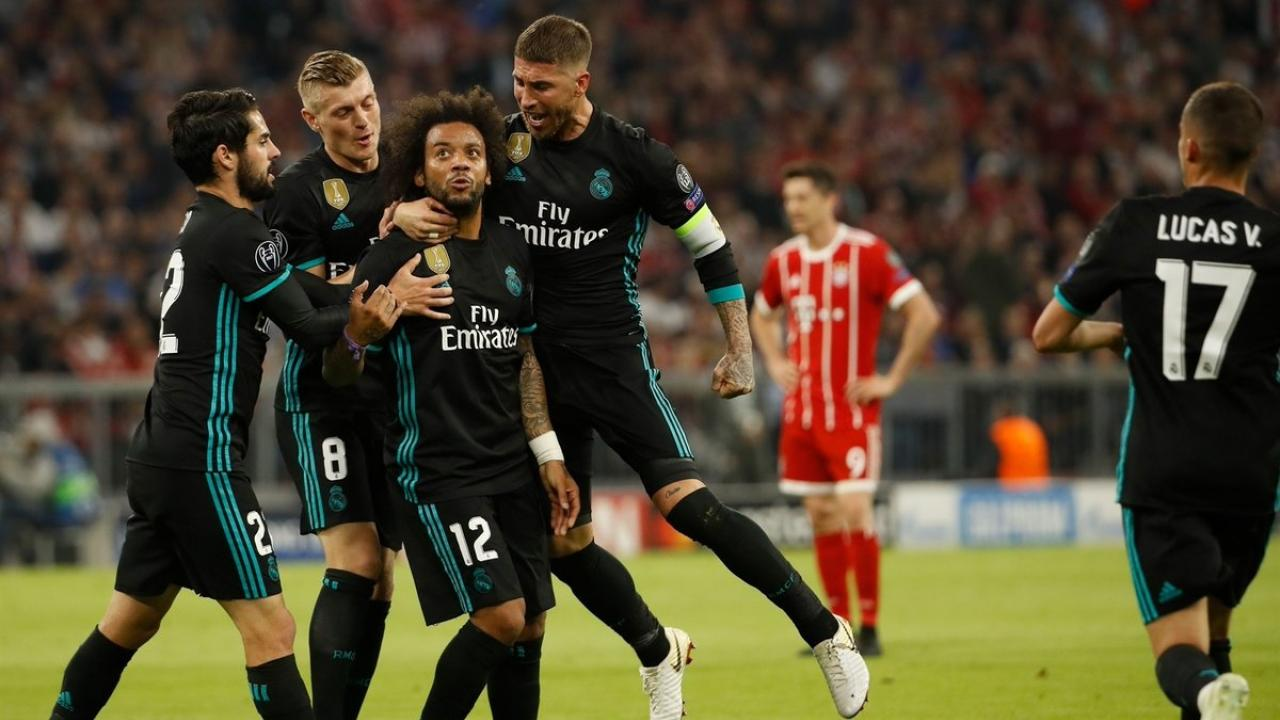 Marcelo inspires Real Madrid over Bayern Munich