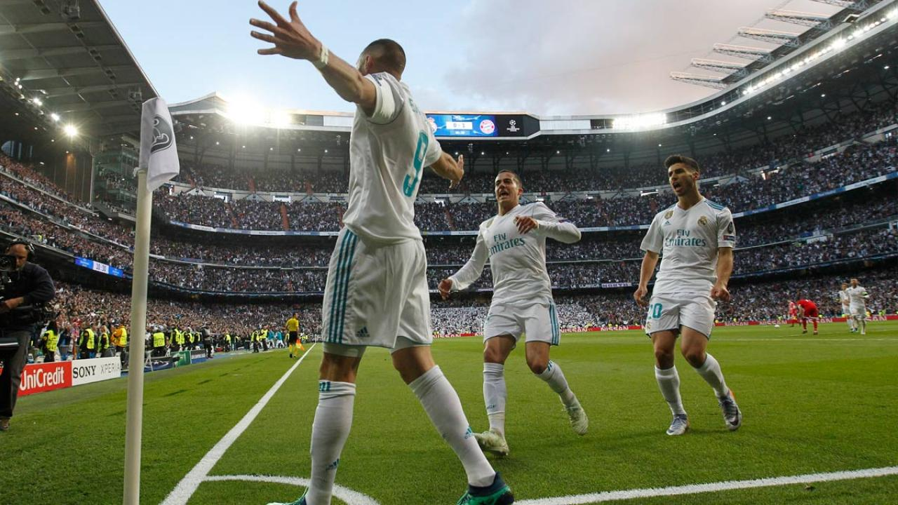 Karim Benzema goal vs Bayern Munich