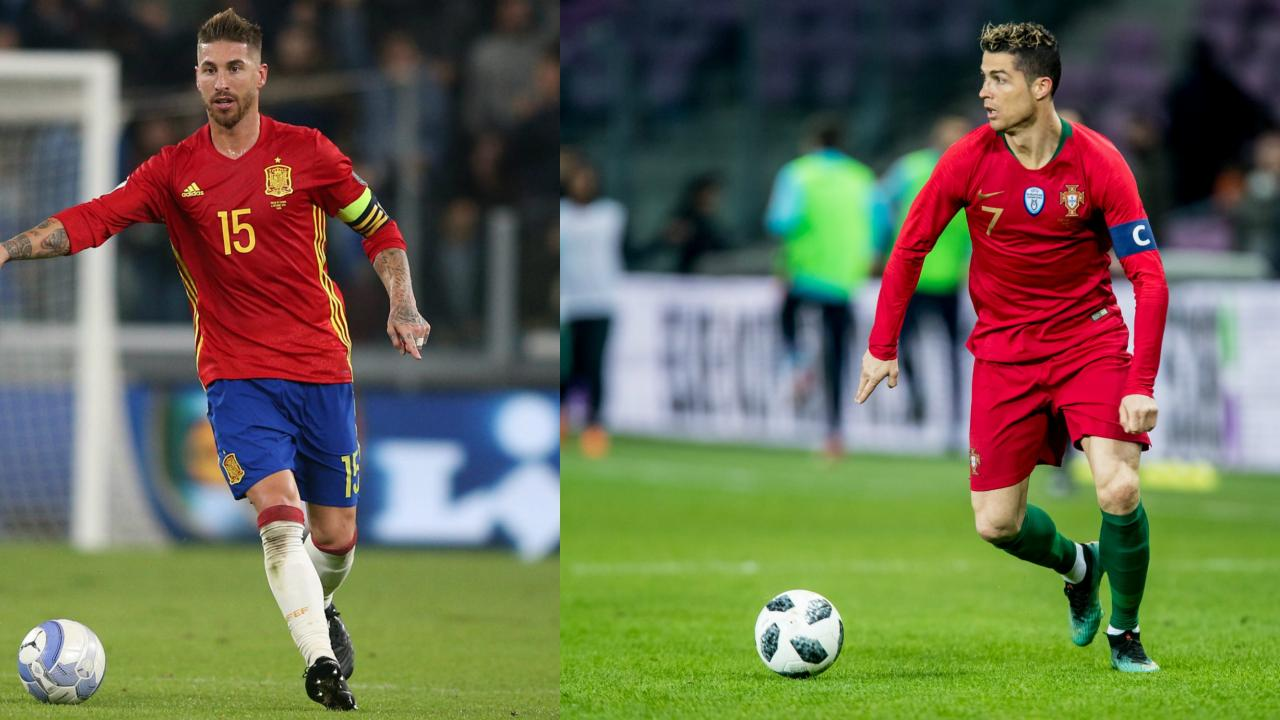 Spain Vs Portugal World Cup