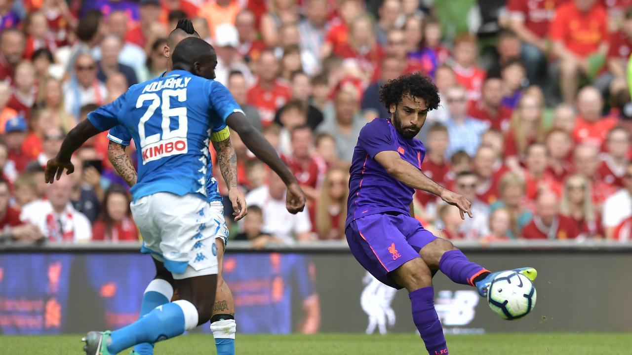 Mo Salah Goal Vs Napoli