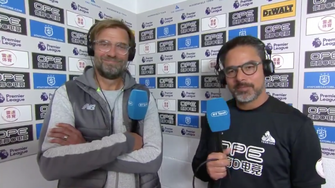 Klopp Wagner Joint Interview