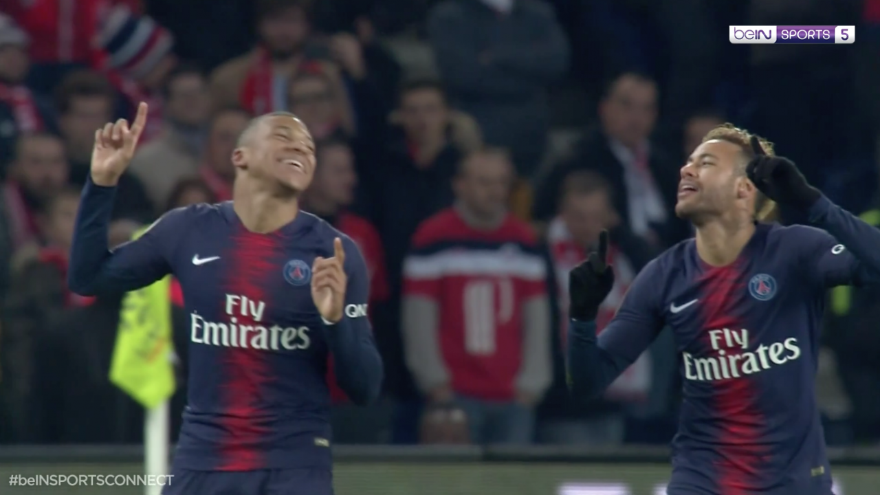 Mbappe Goal vs Lille