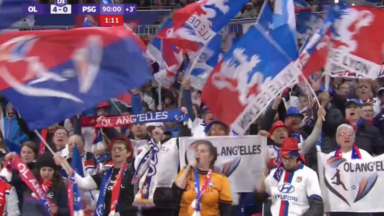 Lyon Women vs PSG Highlights
