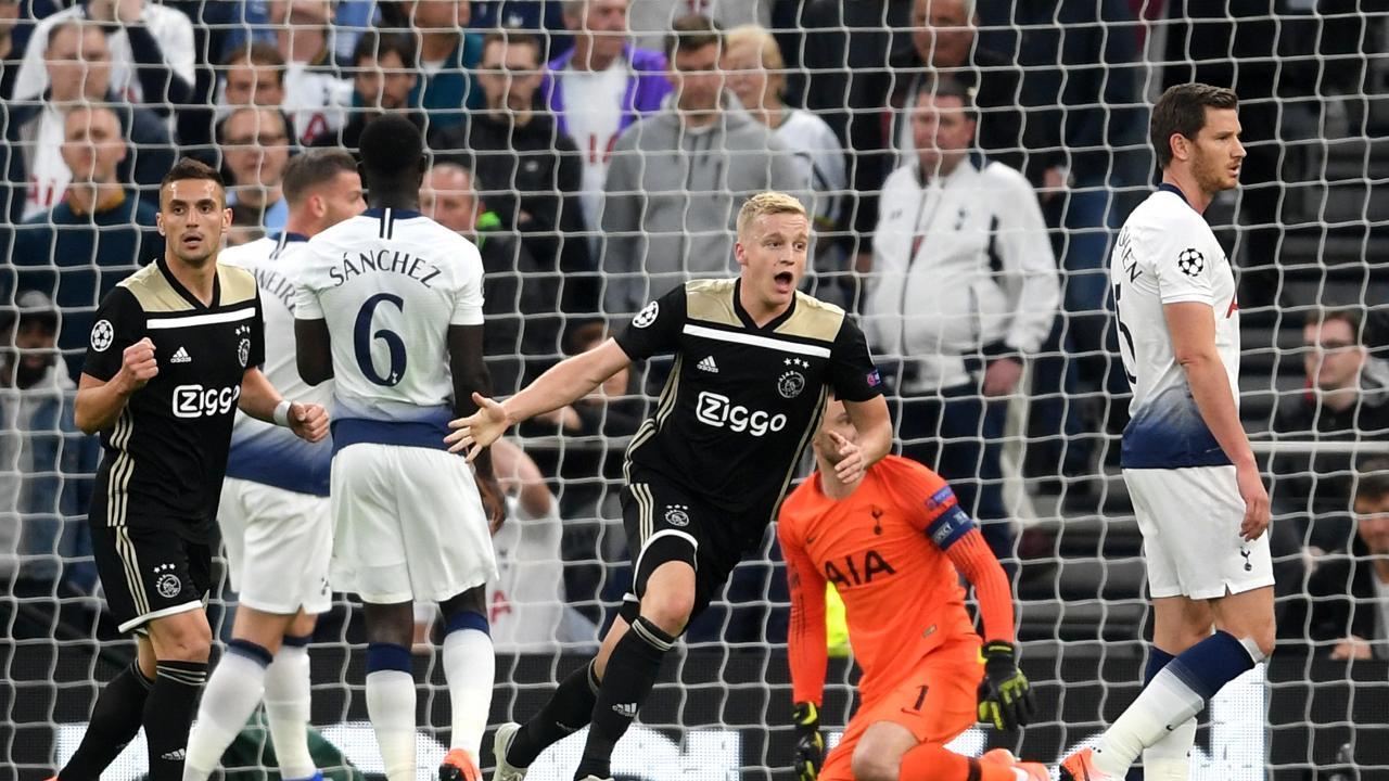 Spurs vs Ajax Highlights First Leg