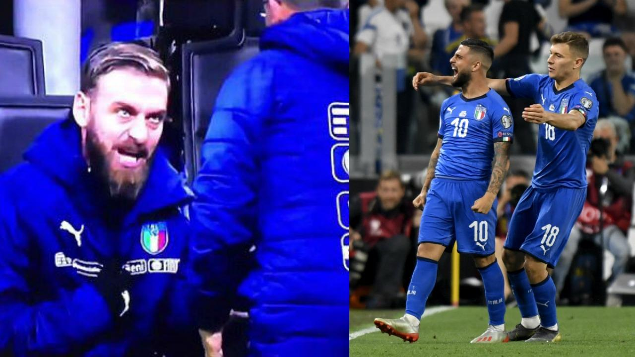 Lorenzo Insigne volley vs Bosnia