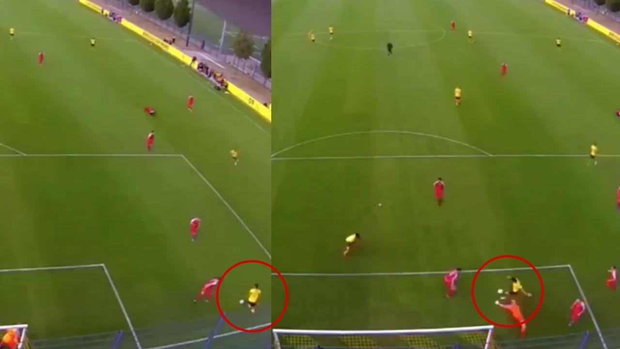 Gio Reyna Goal BVB