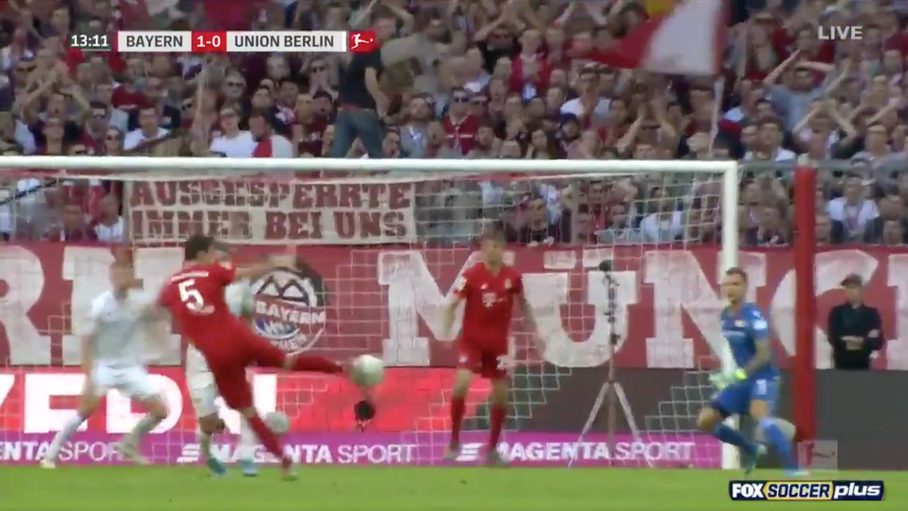 Benjamin Pavard Goal vs. Union Berlin