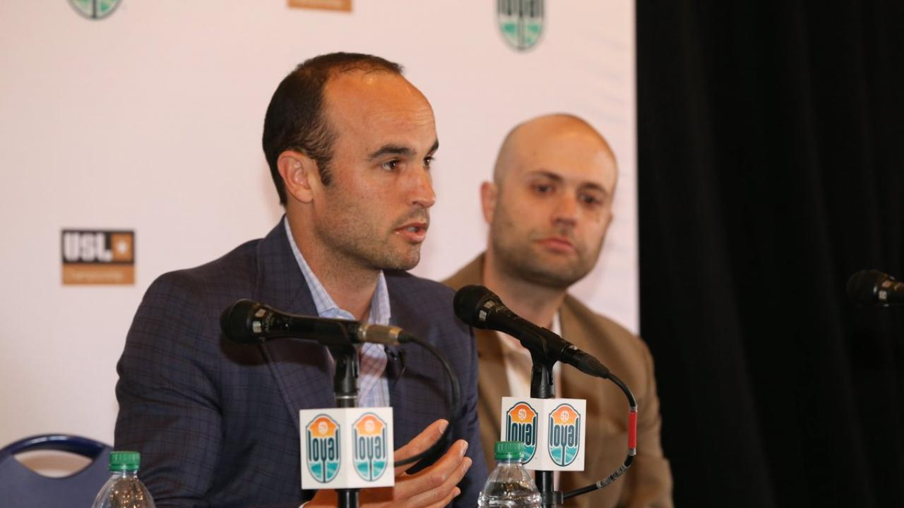 Landon Donovan Coach San Diego Loyal