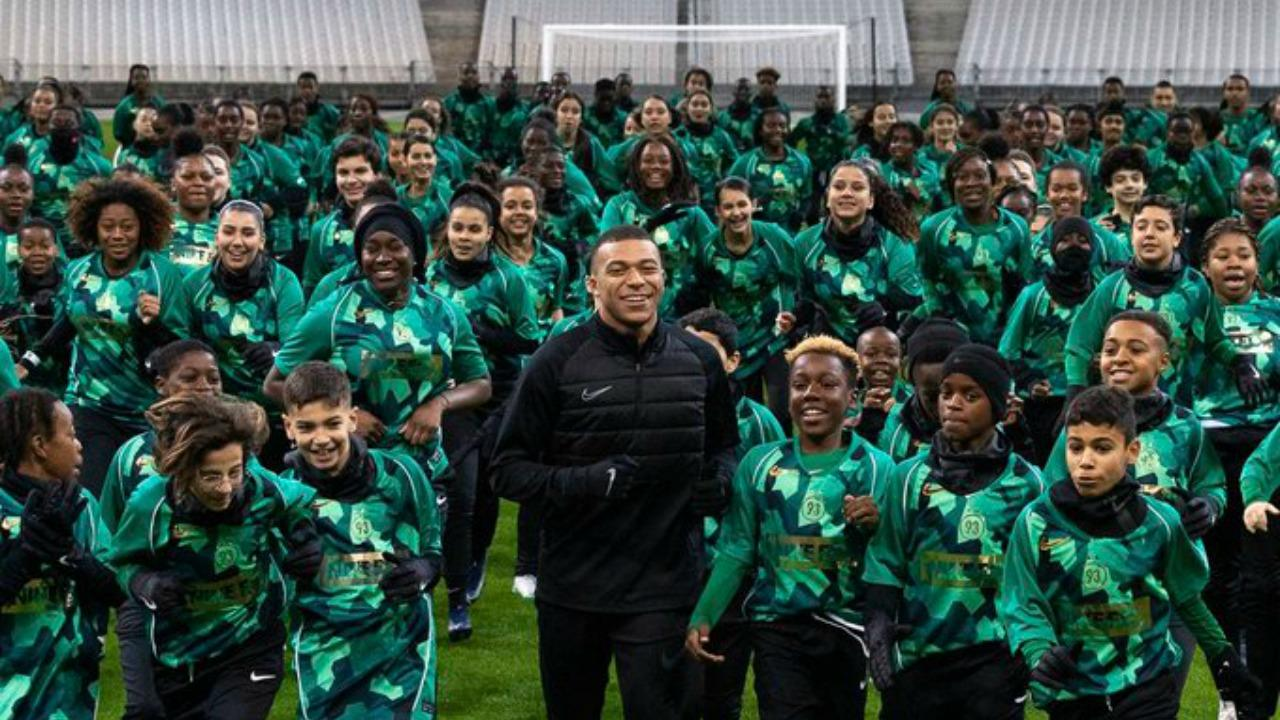 Kylian Mbappe cleat by Nike