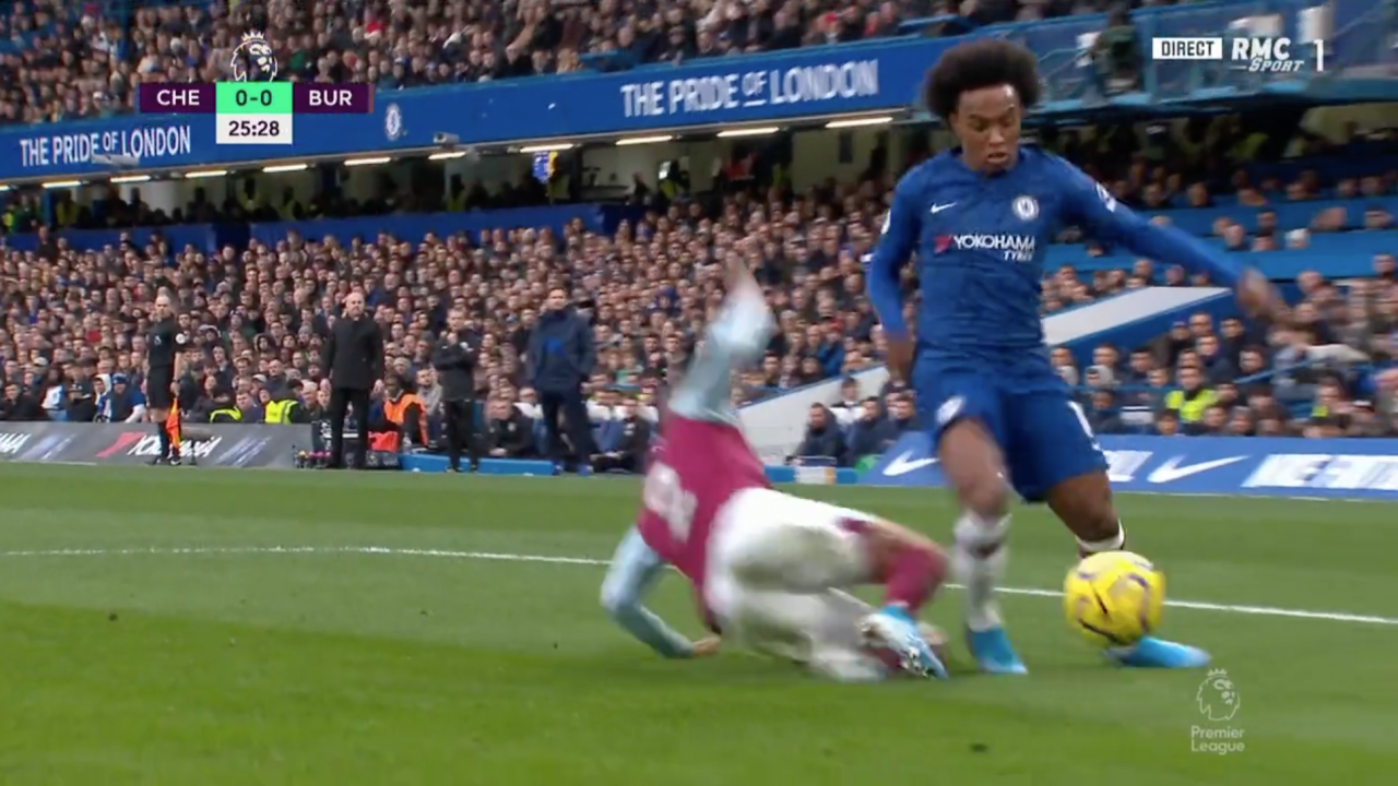Willian Dive vs Burnley