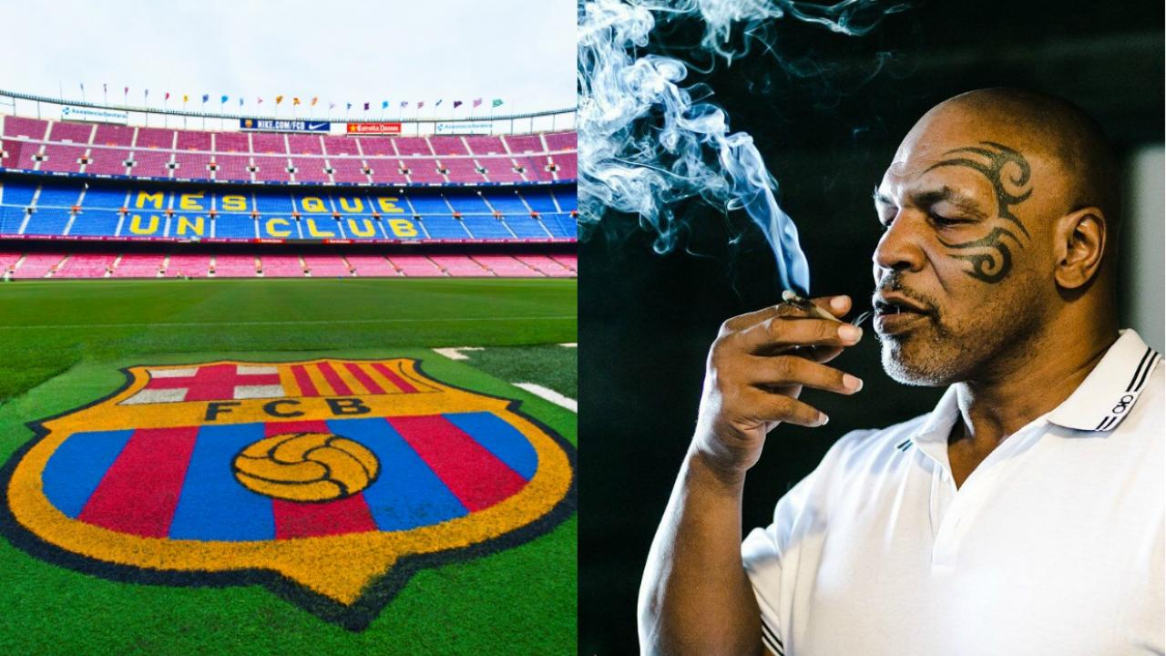 Barcelona Mike Tyson Camp Nou