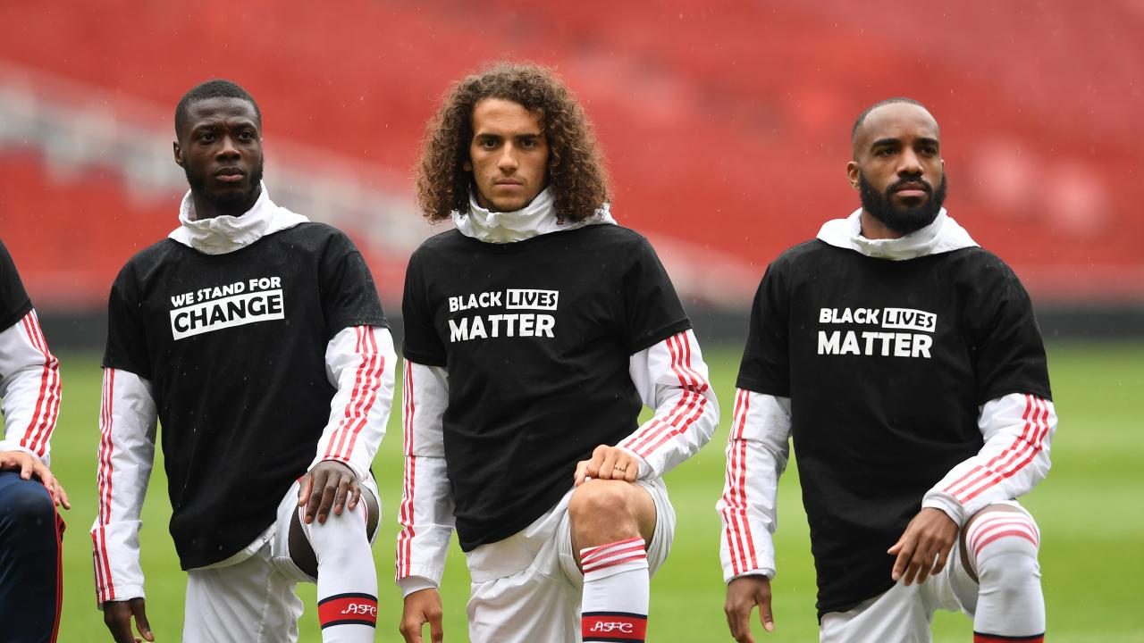 Premier League jersey names Black Lives Matter