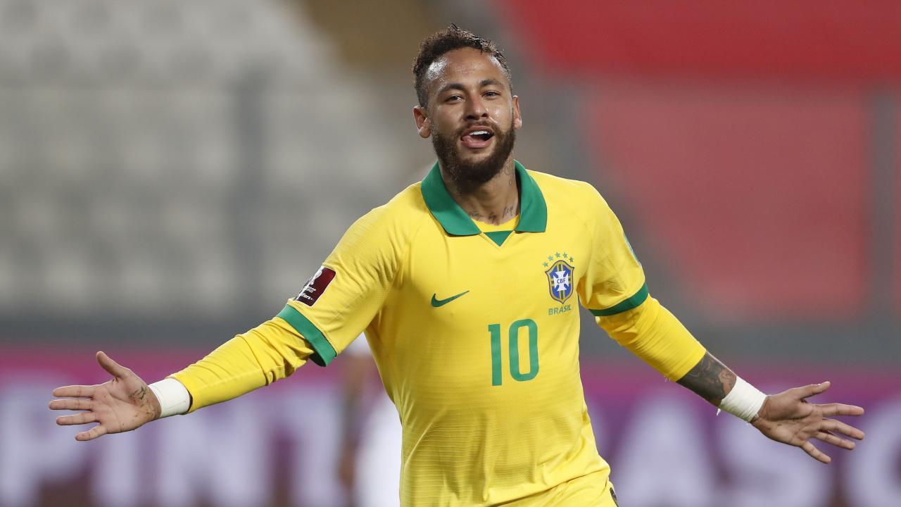 Neymar Brazil Goals