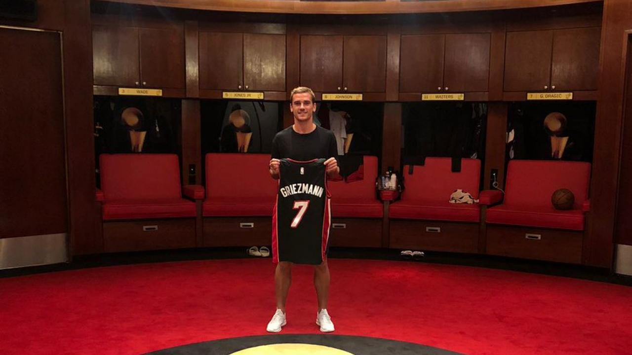 Antoine Griezmann NBA